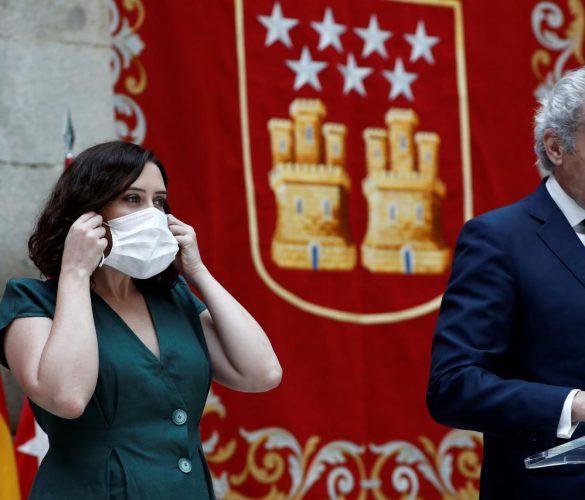 Madrid hace obligatorio el uso de mascarillas